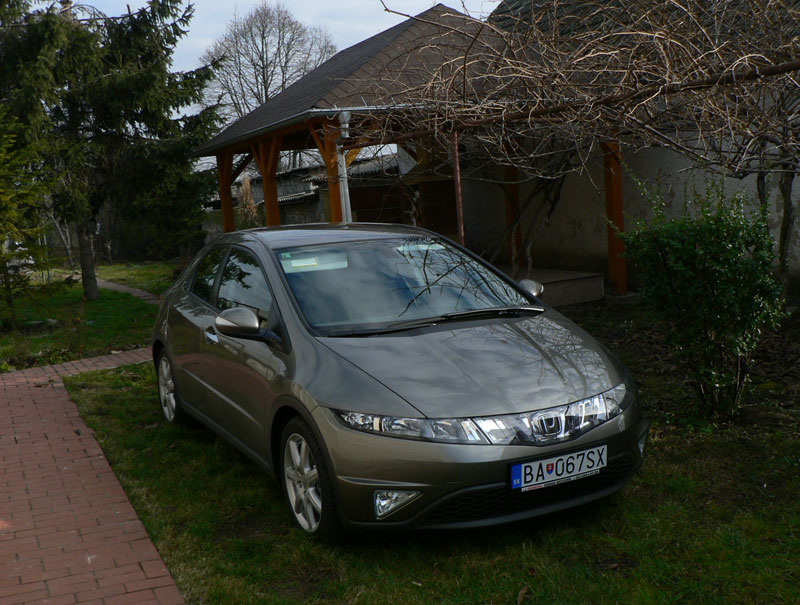 Honda Civic 1,8 Sport - Galaxy Gray